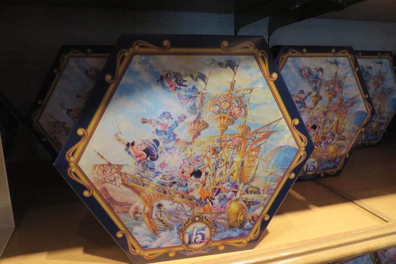 """[Tokyo DisneySea] : 15th anniversary """"The Year of Wishes"""" merchandising Img_6410"""