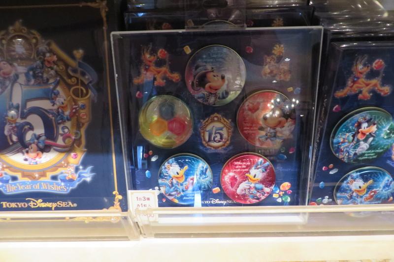 """[Tokyo DisneySea] : 15th anniversary """"The Year of Wishes"""" merchandising Img_6412"""