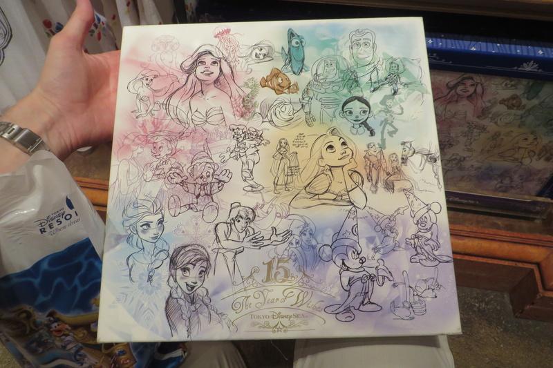 """[Tokyo DisneySea] : 15th anniversary """"The Year of Wishes"""" merchandising Img_8410"""