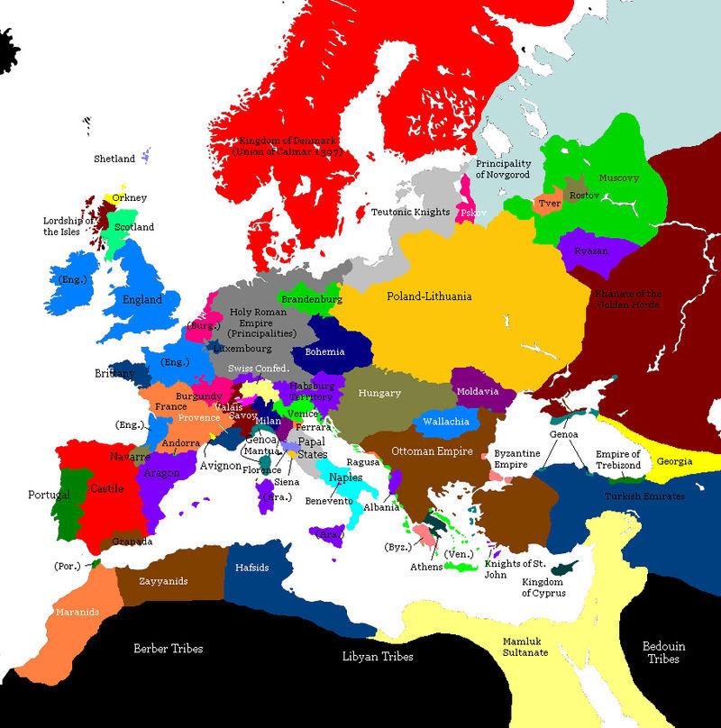 [DOC] Map de l'europe Renais10