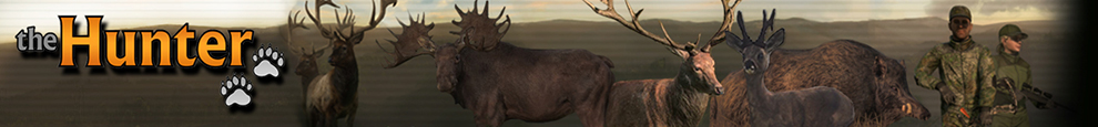 Mapas de ubicación de animales  TheHunter  Call of the Wild Banner10