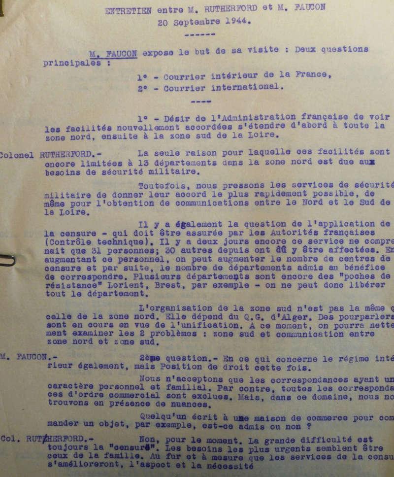 Cartes postales illustrées à la Libération. Entret10