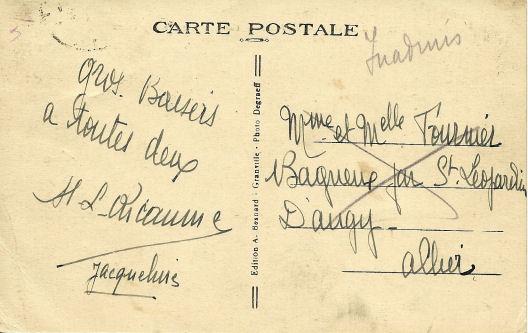 Cartes postales illustrées à la Libération. Illust11