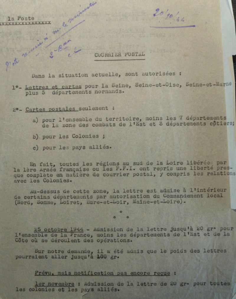 Cartes postales illustrées à la Libération. Situat10