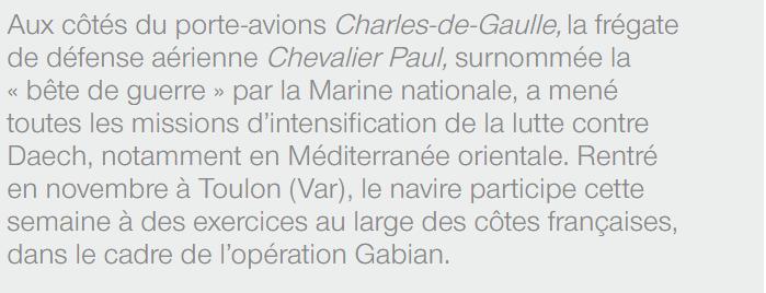 CHEVALIER PAUL (FREGATE) - Page 6 Paul1610
