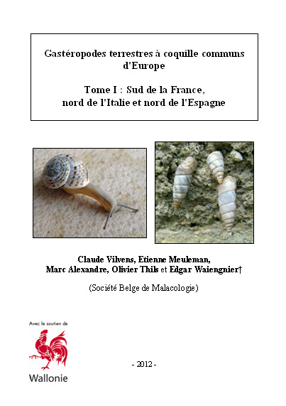 Livres Mollusques terrestres Europe10