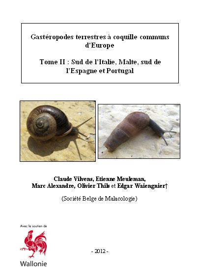 Livres Mollusques terrestres Europe11