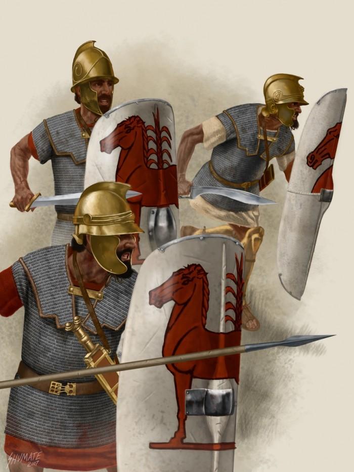 Armée Carthaginoise des Mercenaires Economiques Lions-10