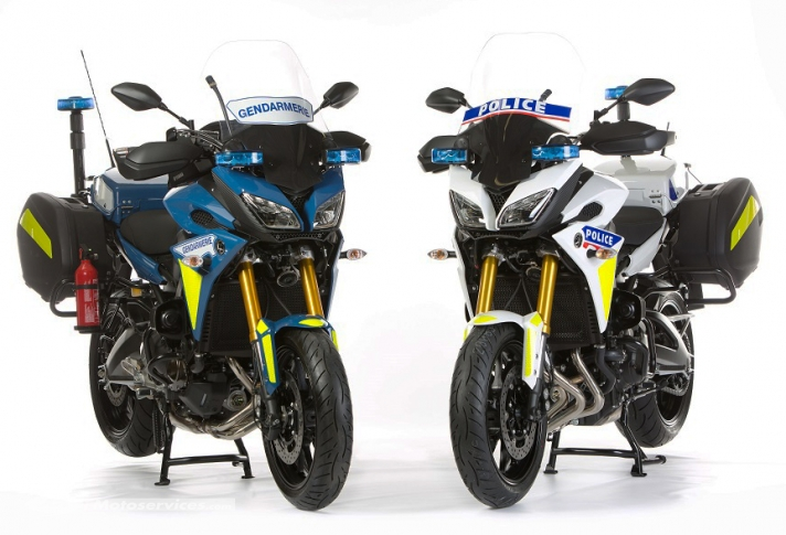 Yamaha continuera d'équiper le trio Gendarmerie Police Douane Yamaha10