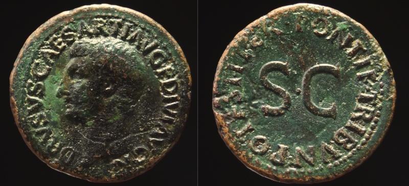 Monnaies de Septime17300 - Page 2 Drusus10