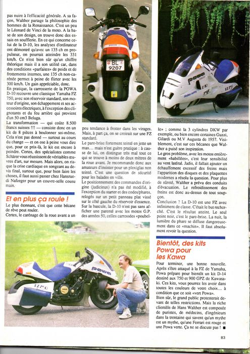 Yamaha POWA D10 MOKO B1a00c10