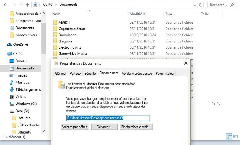 Installer les Sims intégralement sur un Autre Disque & Optimiser l'espace. [PC] Dyplac11