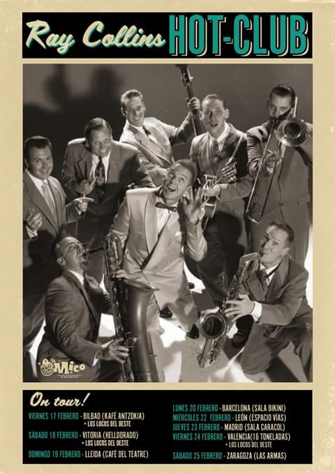 Ray Collins Hot Club - Knock Out Boogie  Thumbn21