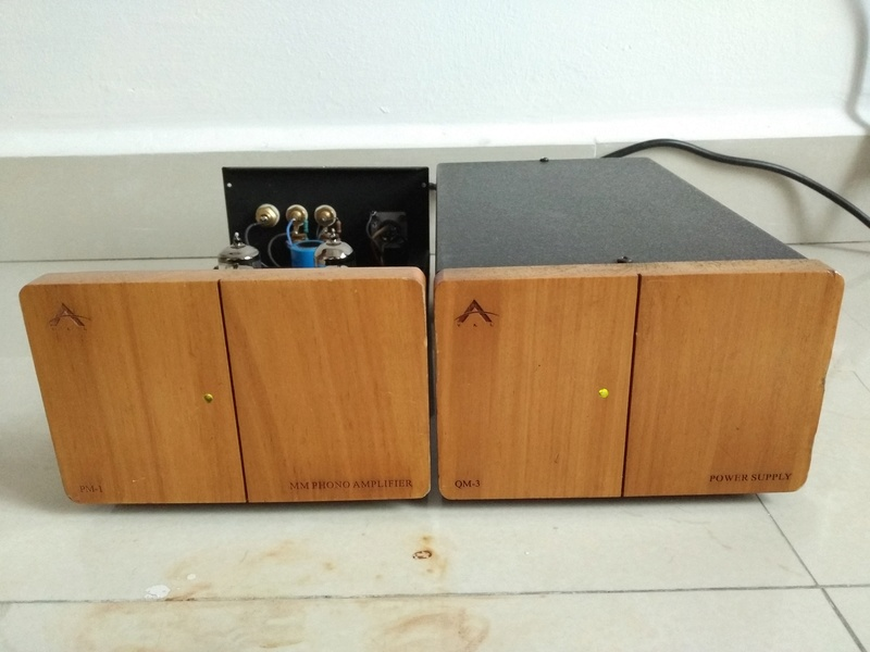 VAL PM-1 Tube MM Phono Amplifier with QM-3 DC Power Supply Img_2014