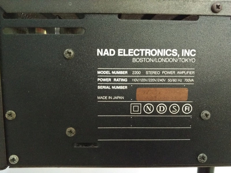 NAD 2200 PE Power Envelope High Current Stereo Power Amplifier