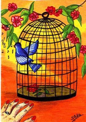 Mes poèmes préférés Oiseau10