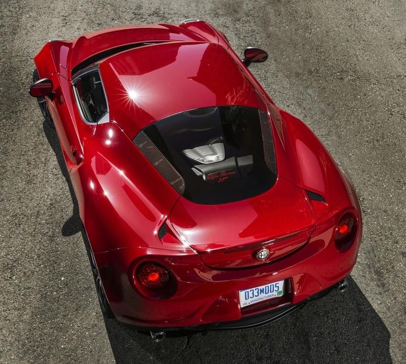 Colori Alfa Romeo 4C
