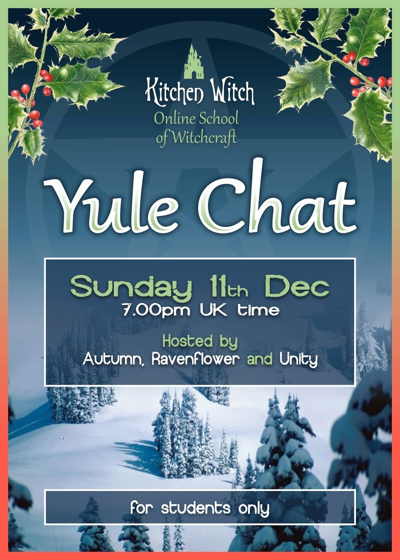 Online Yule Chat - Sunday 11th December 2016_y12