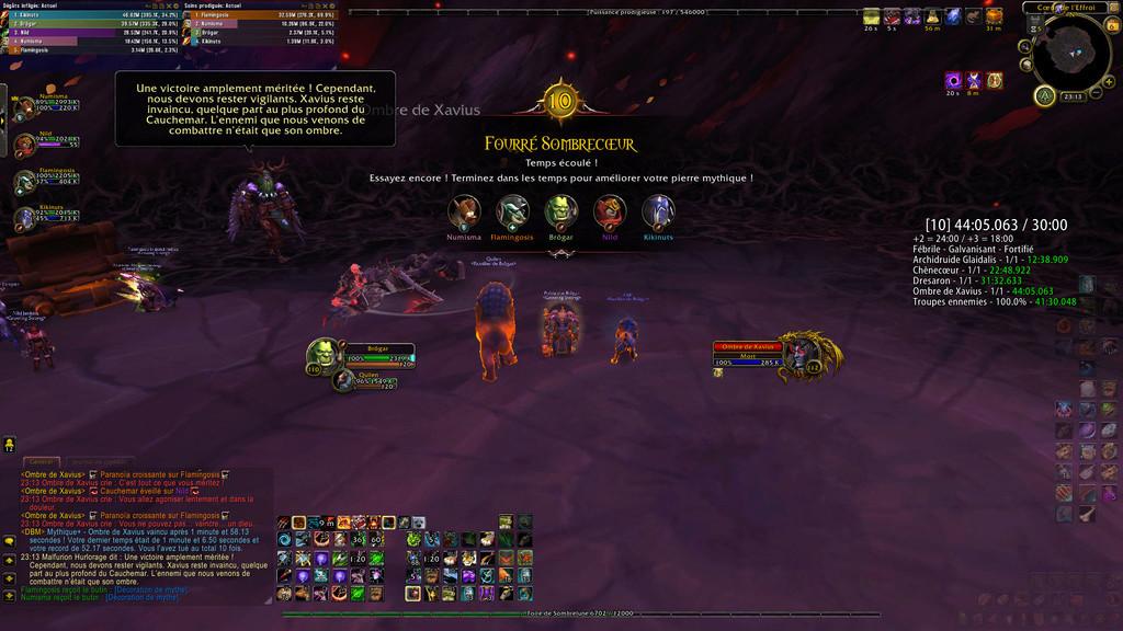 Premier mythique +10 pour la guilde Wowscr10