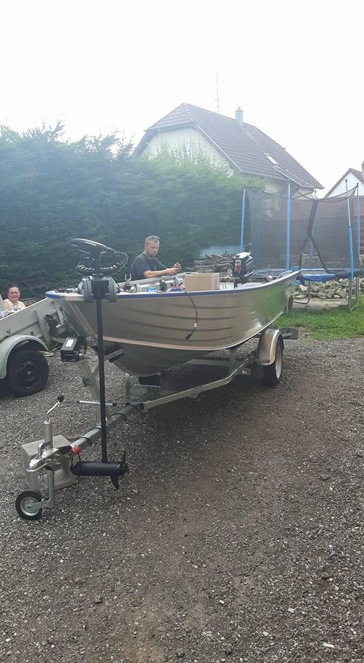 Amenagement barque Alu 4m50 15578510