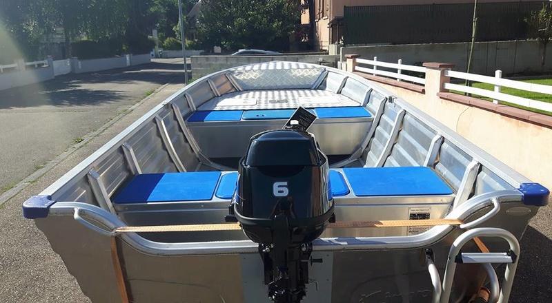 Amenagement barque Alu 4m50 15622610
