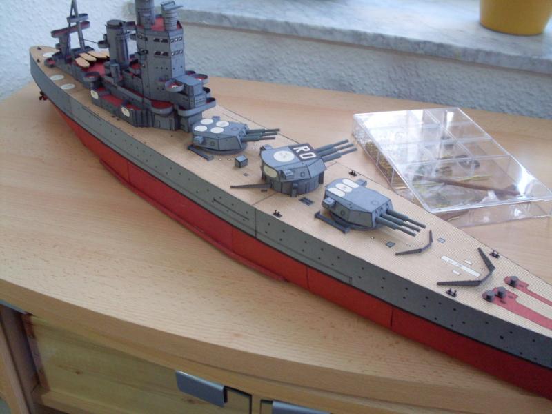 HMS Rodney Maly Modelarz 1:300 - Seite 3 Sdc13710