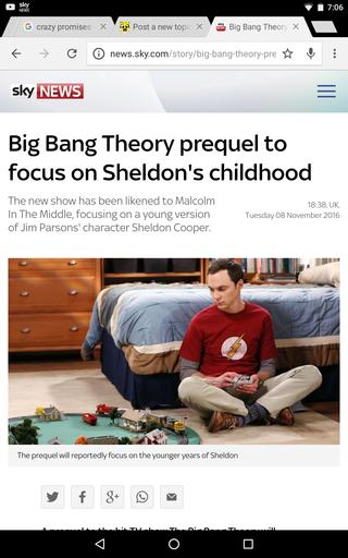Big Bang Theory prequel to focus on Sheldon's childhood Screen16