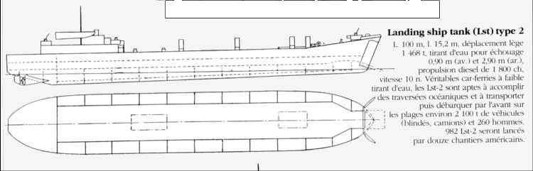 8 - Le mouillage des transports d'assaut et l'approche de la plage 61_89010