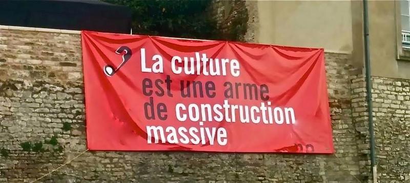 La culture est une arme « de progrès, d'ouverture, de liberté » 110