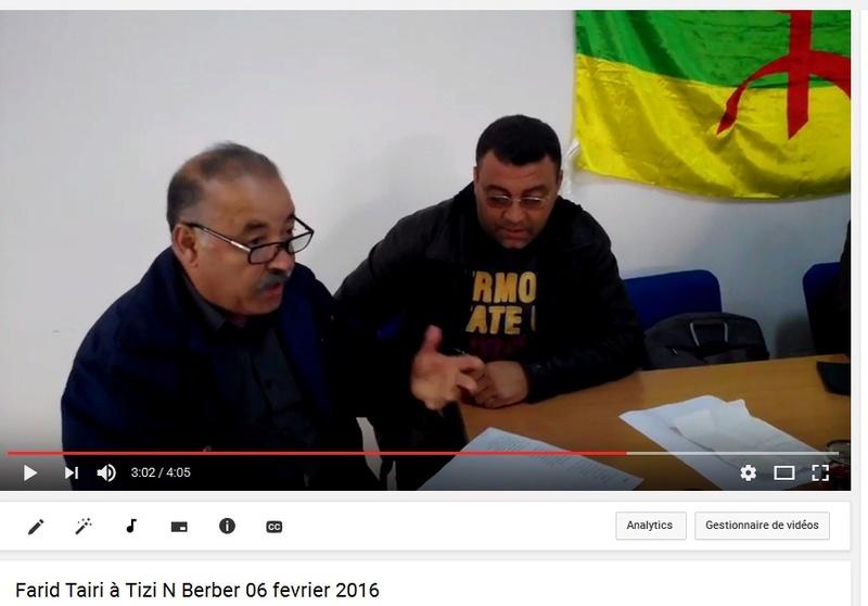 Farid Tairi à Tizi N Berber 06 fevrier 2016  1111