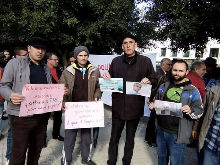 Rassemblement pour sauver le Dr Fekhar et ses compagnons à Aokas 28 janvier 2017 1322