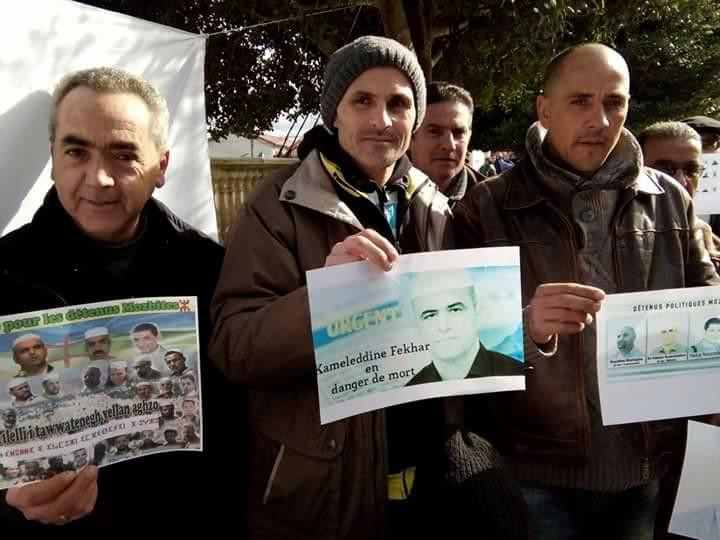 Rassemblement pour sauver le Dr Fekhar et ses compagnons à Aokas 28 janvier 2017 1334
