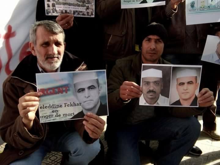 Rassemblement pour sauver le Dr Fekhar et ses compagnons à Aokas 28 janvier 2017 1335