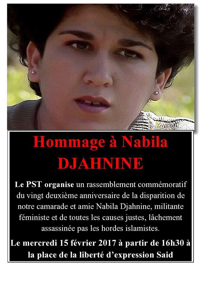 Hommage à Nabila Djahnine Aokas 15 février 2017 1456