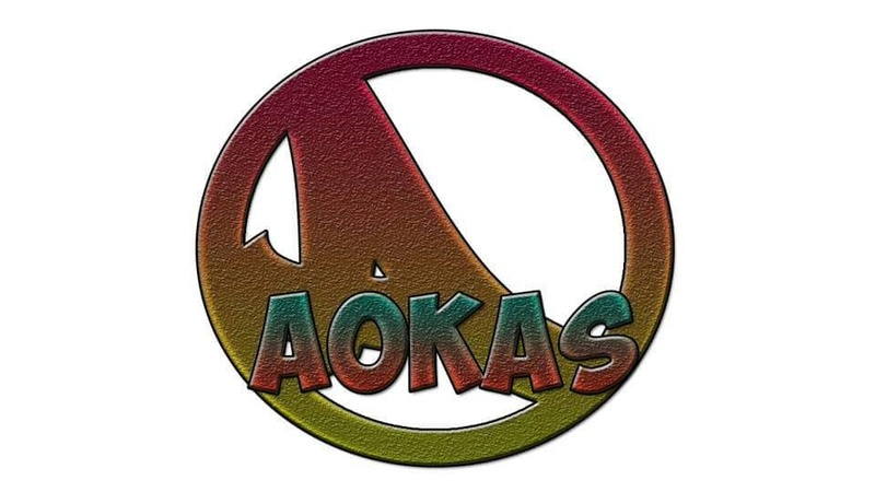 Logo d'Aokas réalisé par Yuva, fils de Amara Ali 148