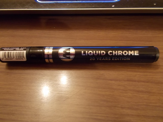 Liquid chrome pens. Dscn3013