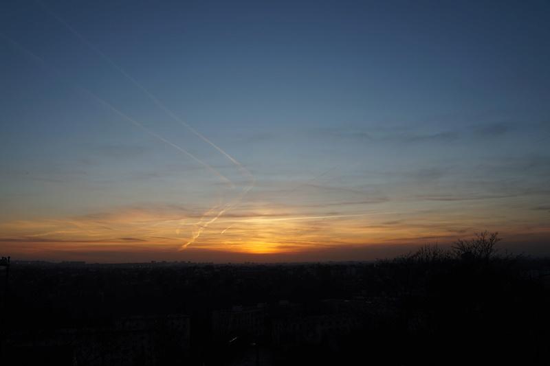 Coucher de Soleil sur le Val de Marne Dsc01512
