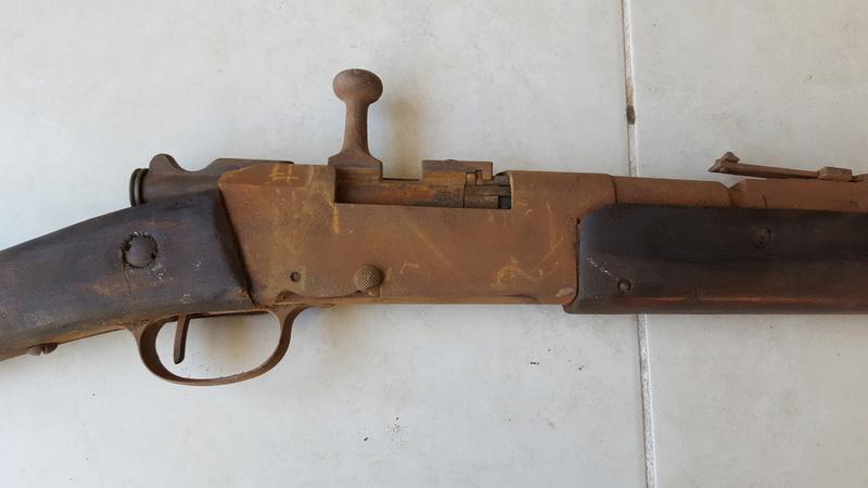 Fusils trouvés dans un grenier 20170102