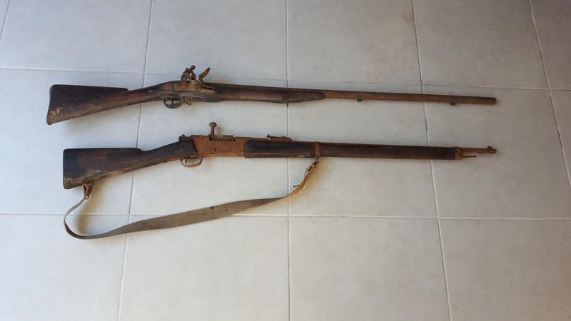 Fusils trouvés dans un grenier 20170198