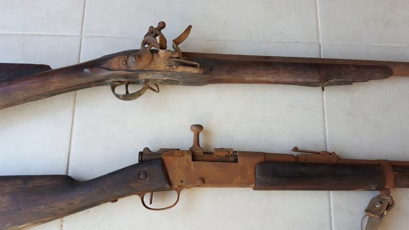 Fusils trouvés dans un grenier 20170199