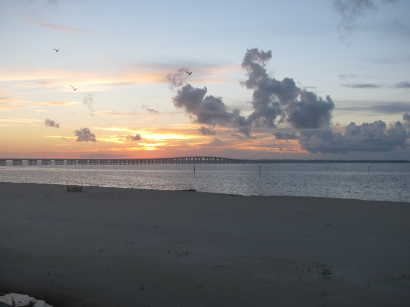Some sunrise pictures on the Bay of St Louis , Mississippi Img_2014