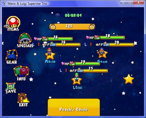 VX: Mario & Luigi Superstar Trio Mlst210