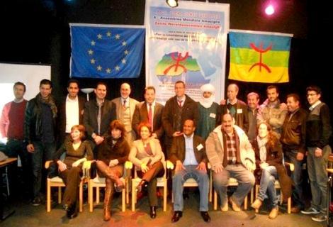 أحد جناحي الكونغرس العالمي الأمازيغي ينتهي بميلاد التجمع العالمي الأمازيغي ببروكسيل 78227710