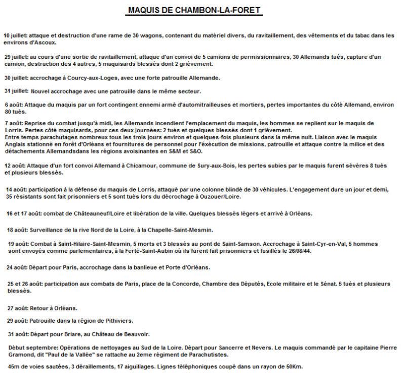 Rapport d'activité du maquis de Chambon-la-Forêt Rappor10