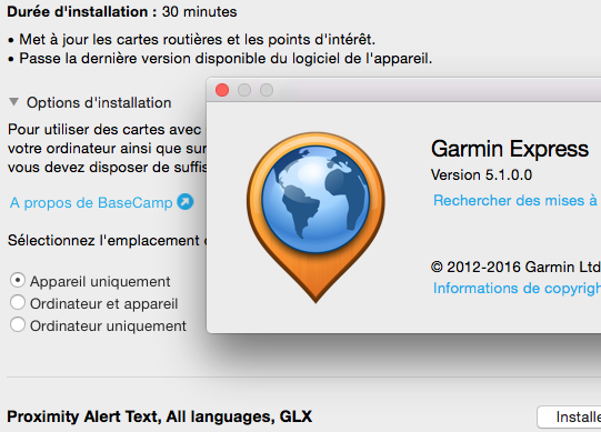 Les modifications de Garmin Express pour Mac -> V 6.14.0 - Page 4 Captur23