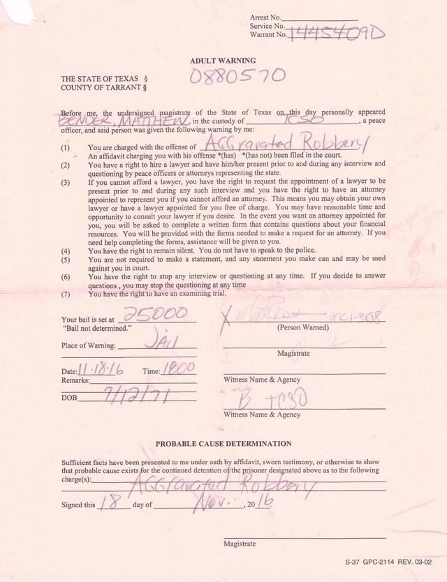 Document Records Warnin10