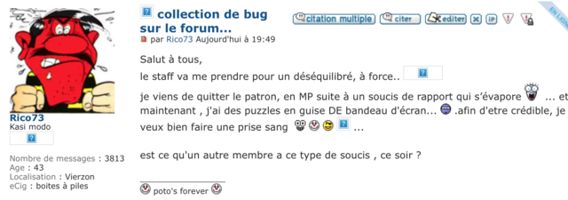 collection de bug sur le forum... Captur23