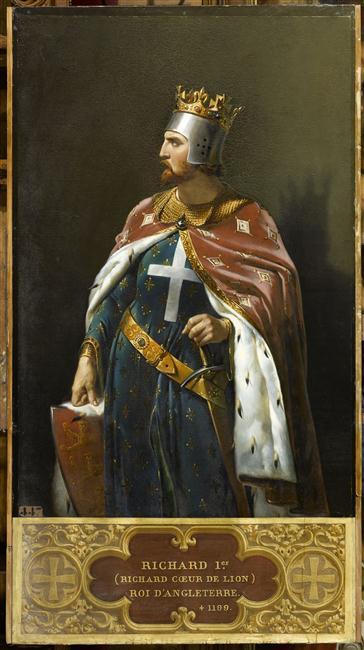 Richard Cœur de Lion entre mythes et réalités 12-54810