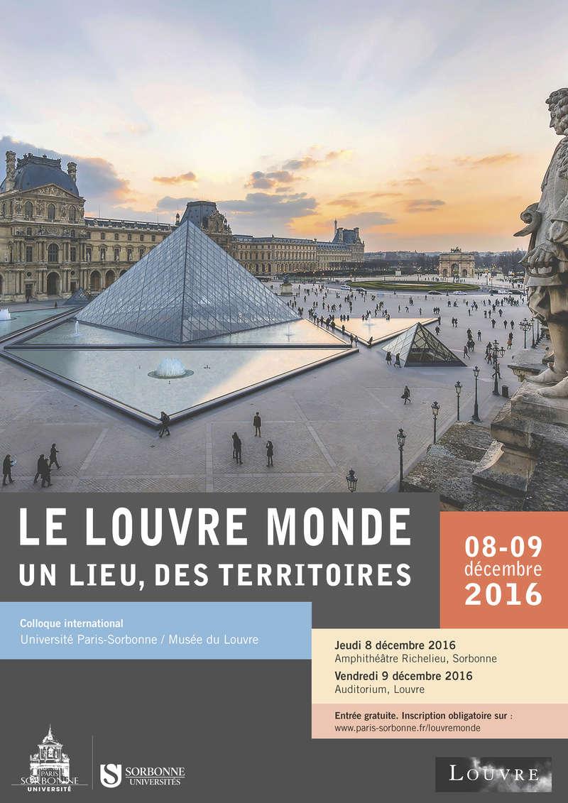 Le Louvre se raconte. Paris, 8-9 décembre 2016 Affich10
