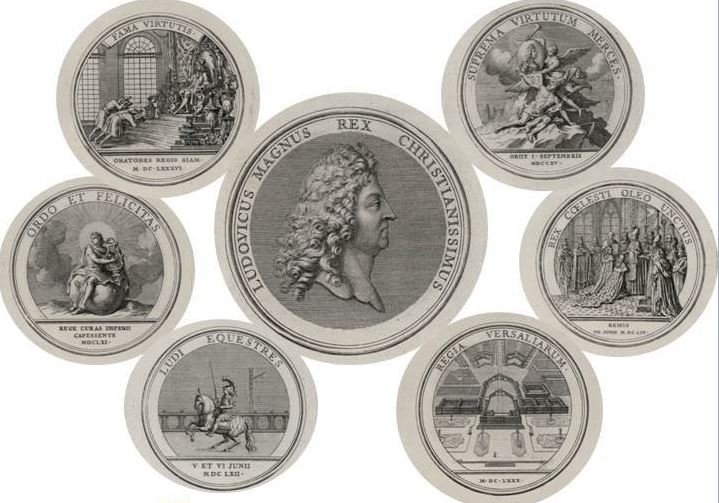 Les médailles de Louis XIV et leur livre Mydail10